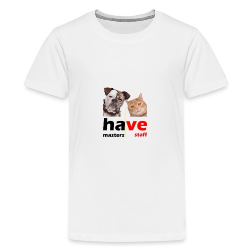 Dog & Cat - Kids' Premium T-Shirt