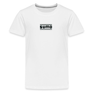 Sumo Text (Black) - Kids' Premium T-Shirt