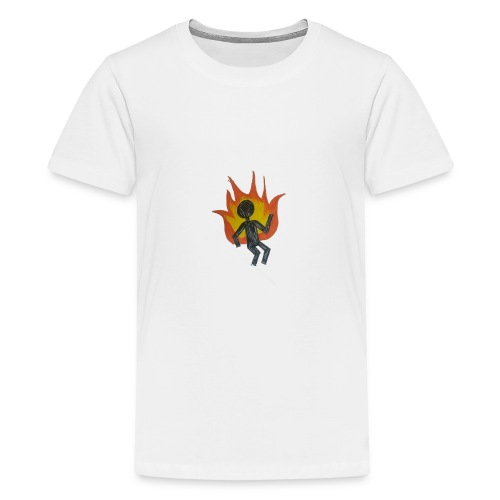 REEF BURNING MAN - Kids' Premium T-Shirt