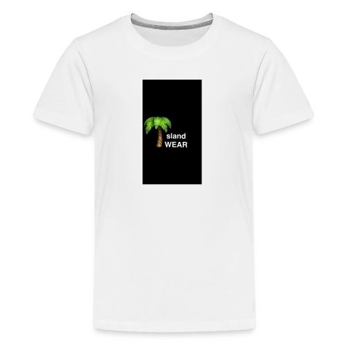 Black IslandWEAR tree logo - Kids' Premium T-Shirt