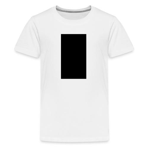 Black Rectangle - Kids' Premium T-Shirt