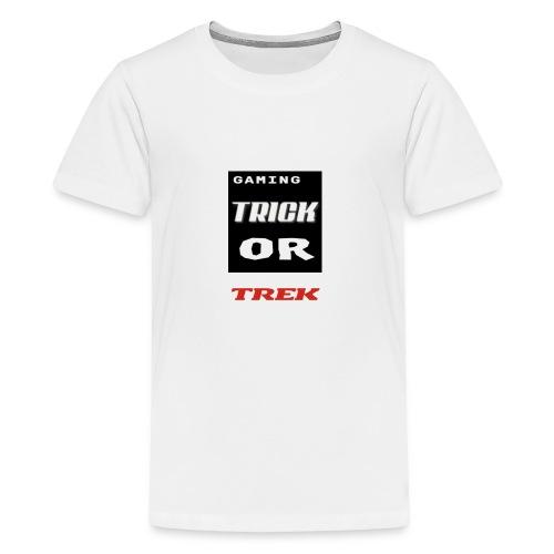 gaming trick or trek - Kids' Premium T-Shirt