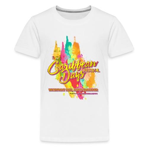 Caribbean Days Festival = Hot! Hot! Hot! - Kids' Premium T-Shirt
