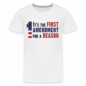 1st Amendment - Kids' Premium T-Shirt