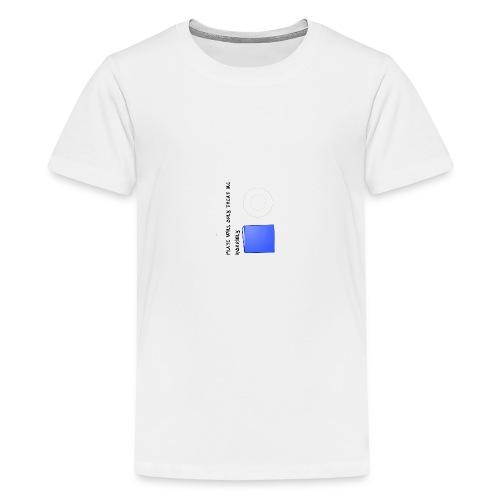 Plate will Only Treat Me Horrbily - Kids' Premium T-Shirt