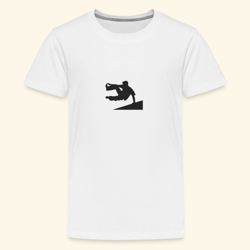 parkour jump - Kids' Premium T-Shirt