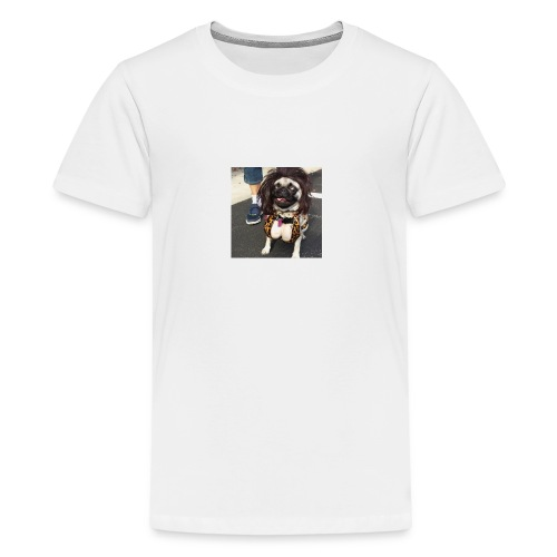 Chloe as Snooki Pug - Kids' Premium T-Shirt