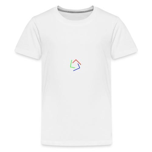 Ultra Cynet 3 Color L Logo No Text - Kids' Premium T-Shirt