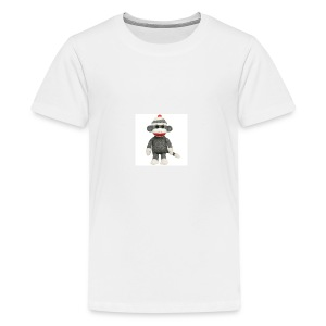 Sock Monkey - Kids' Premium T-Shirt