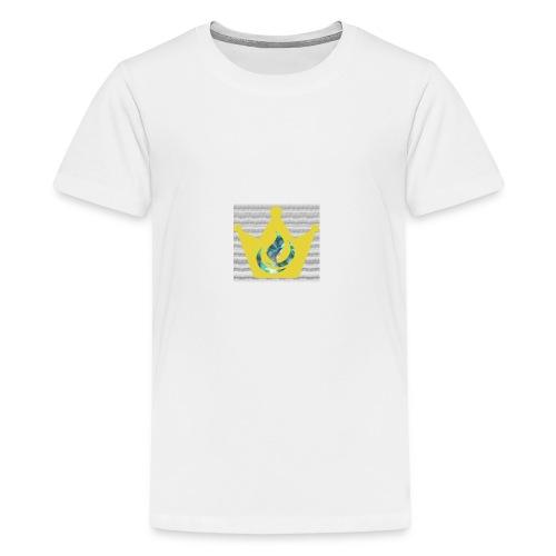 Flaming Crown - Kids' Premium T-Shirt