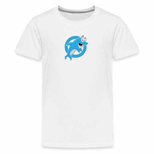 Mascot Dolphie - Kids' Premium T-Shirt