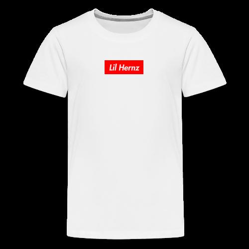 Lil Hernz Box Logo - Kids' Premium T-Shirt