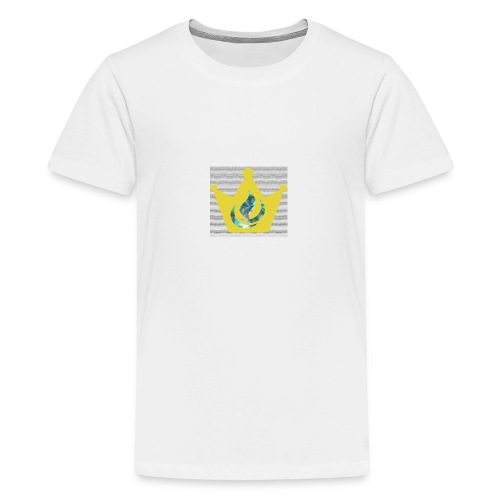 Flaming Crown - Kids' Premium T-Shirt