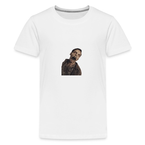 zombie hoddie - Kids' Premium T-Shirt