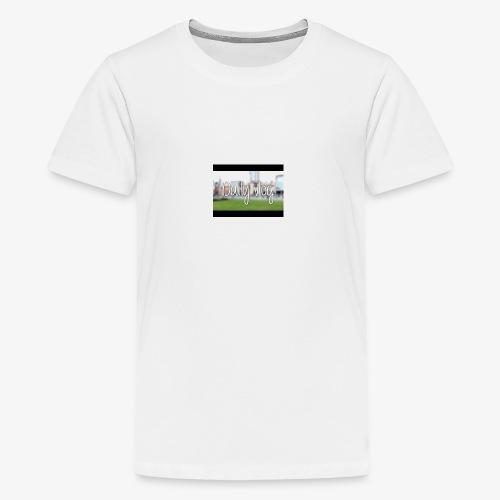 Dailyvlogs let's go - Kids' Premium T-Shirt