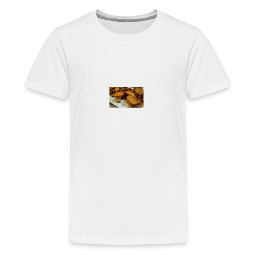 cajun style sweet potatoes top - Kids' Premium T-Shirt