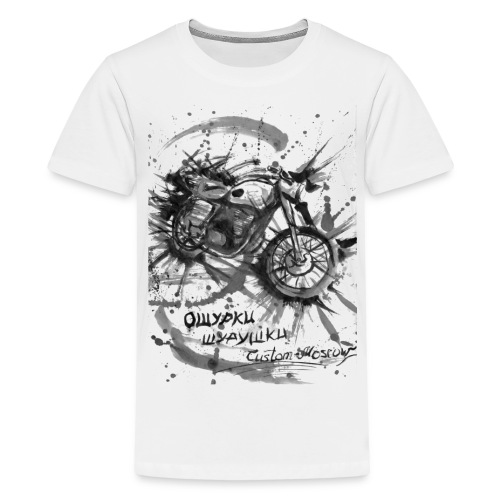 custom motorcycles moscow - Kids' Premium T-Shirt