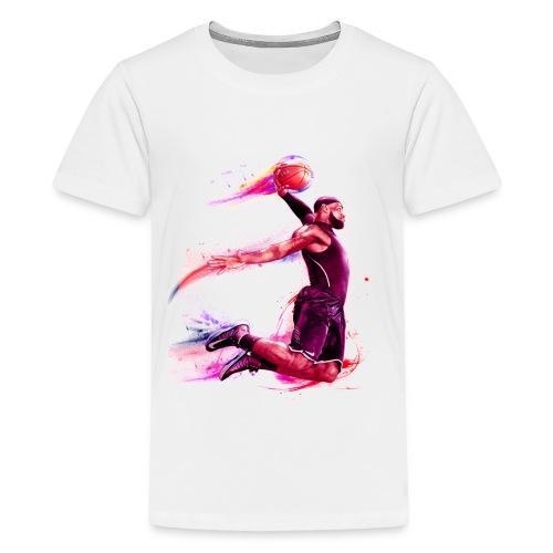 basketball man - Kids' Premium T-Shirt