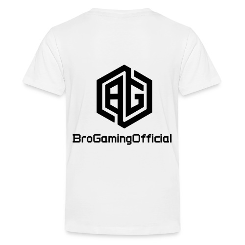 BroGamingOfficial Merch - Kids' Premium T-Shirt