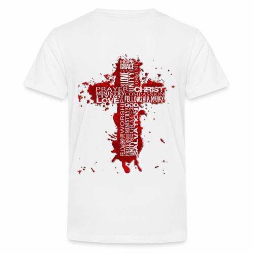 Jesus2thacitycross White - Kids' Premium T-Shirt