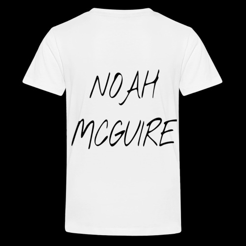 Noah McGuire design (Black) - Kids' Premium T-Shirt
