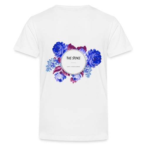 The Stoke Badge Floral - Kids' Premium T-Shirt