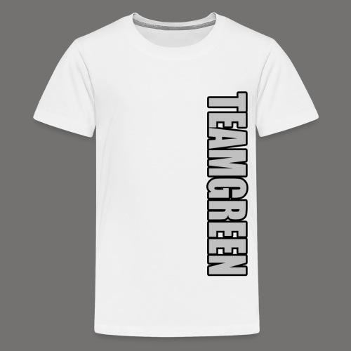 TeamGreen Silver png - Kids' Premium T-Shirt