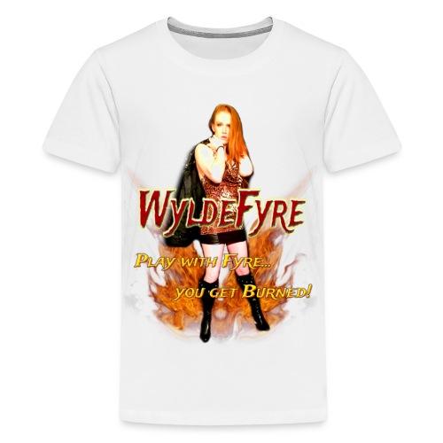 WyldeFyre (Design 2) - Kids' Premium T-Shirt