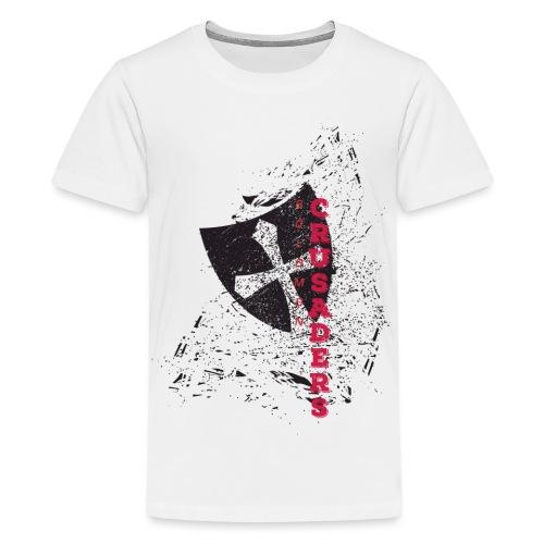 Shield-v6-Distressed-2c - Kids' Premium T-Shirt