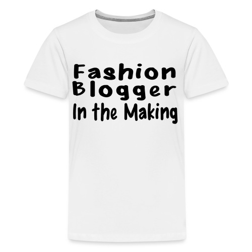 Fashion Blogger in the making png - Kids' Premium T-Shirt