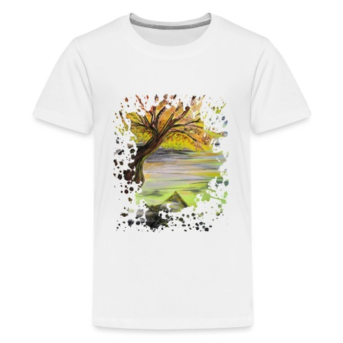 Over Looking Tree - Kids' Premium T-Shirt