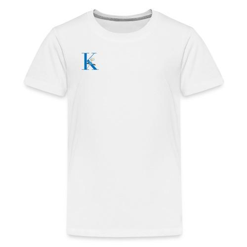 Initial Rose - Kids' Premium T-Shirt