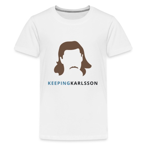 Keeping Karlsson Logo Transparent brown - Kids' Premium T-Shirt