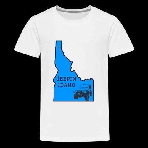 Jeepin Idaho Logo - Kids' Premium T-Shirt