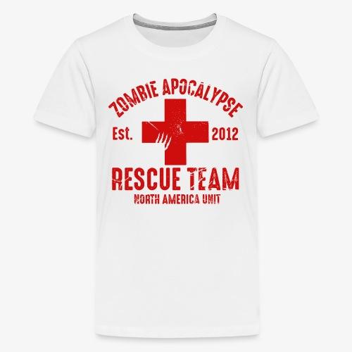 Zombie Rescue Halloween Shirt - Kids' Premium T-Shirt