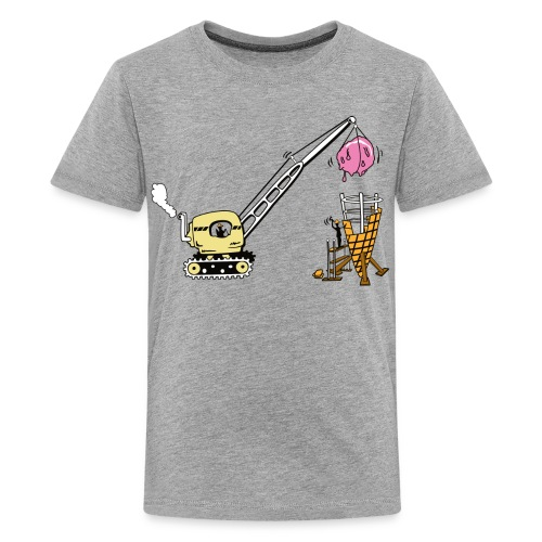 How ice cream cones are made - Kids' Premium T-Shirt