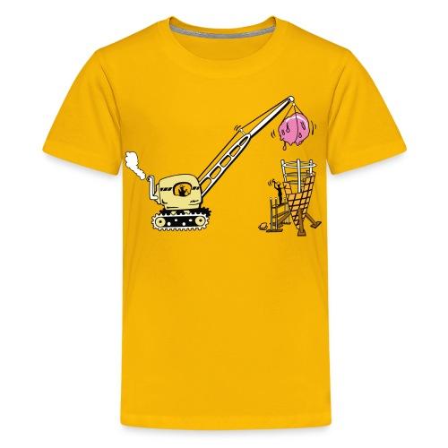 How ice cream cones are made - Kids' Premium T-Shirt