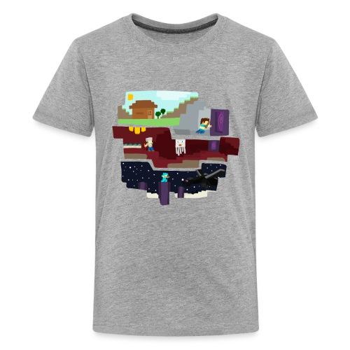 Begining to End png - Kids' Premium T-Shirt