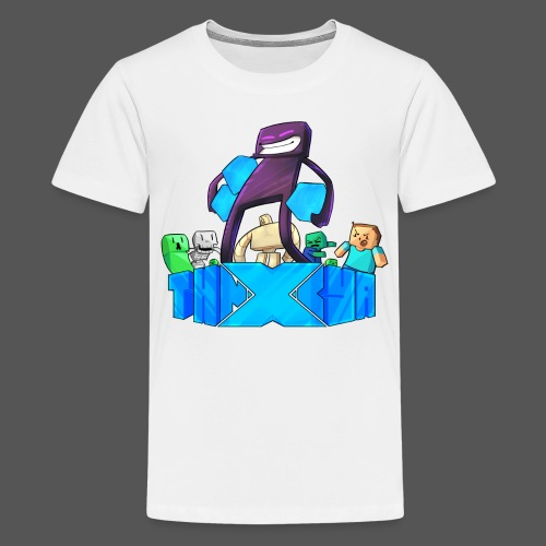 ThnxCya tshirt like an enderman by Jonas Nacef png - Kids' Premium T-Shirt
