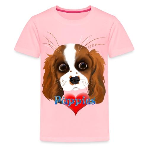 Puppy Love - Kids' Premium T-Shirt