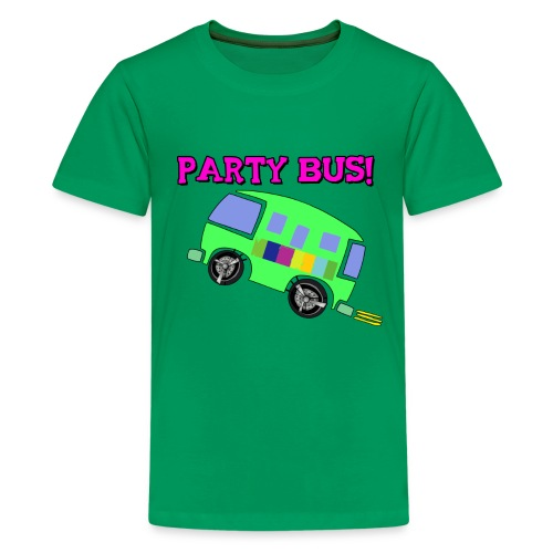 party bus - Kids' Premium T-Shirt