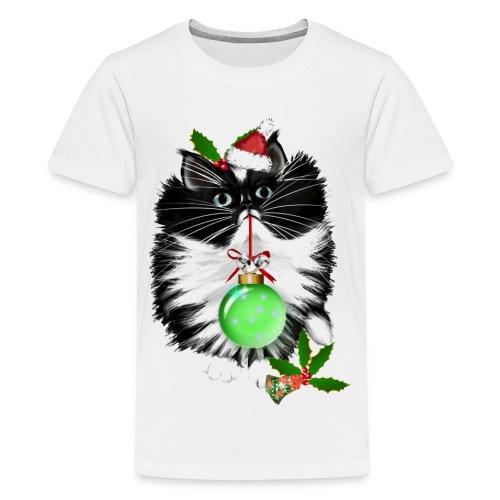 A Tuxedo Merry Christmas - Kids' Premium T-Shirt