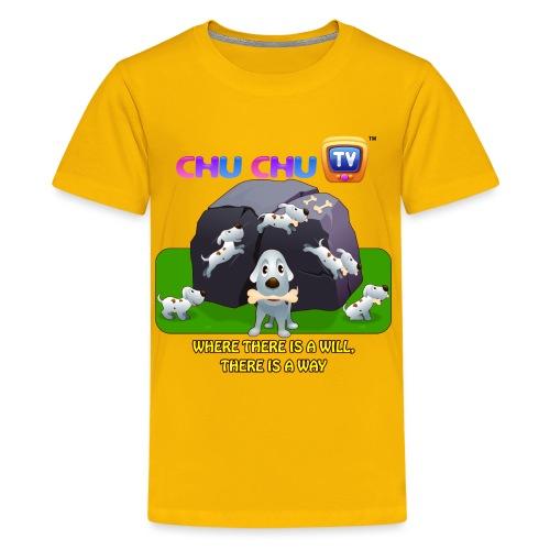 Motivation Slogan 9 - Kids' Premium T-Shirt