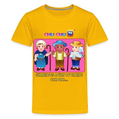 Motivational Slogan 3 - Kids' Premium T-Shirt