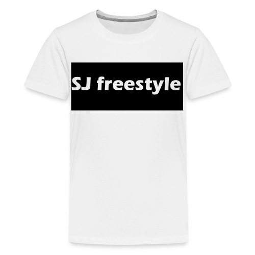 SJ freestyle kids hoodie - Kids' Premium T-Shirt