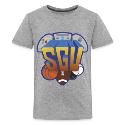 sgu new logo shirt - Kids' Premium T-Shirt