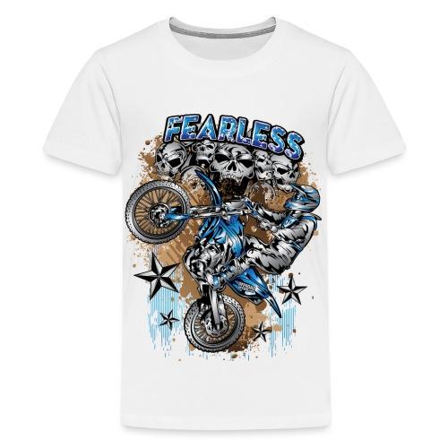 Fearless Motocross Yamaha - Kids' Premium T-Shirt