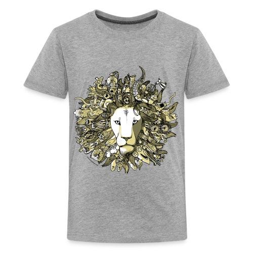 Yellow Lion - Kids' Premium T-Shirt