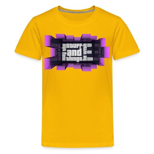 Jorgen Graff png - Kids' Premium T-Shirt
