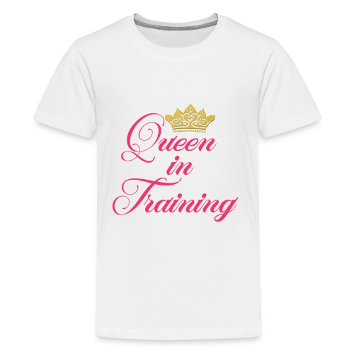 Queen In Training - Kids' Premium T-Shirt